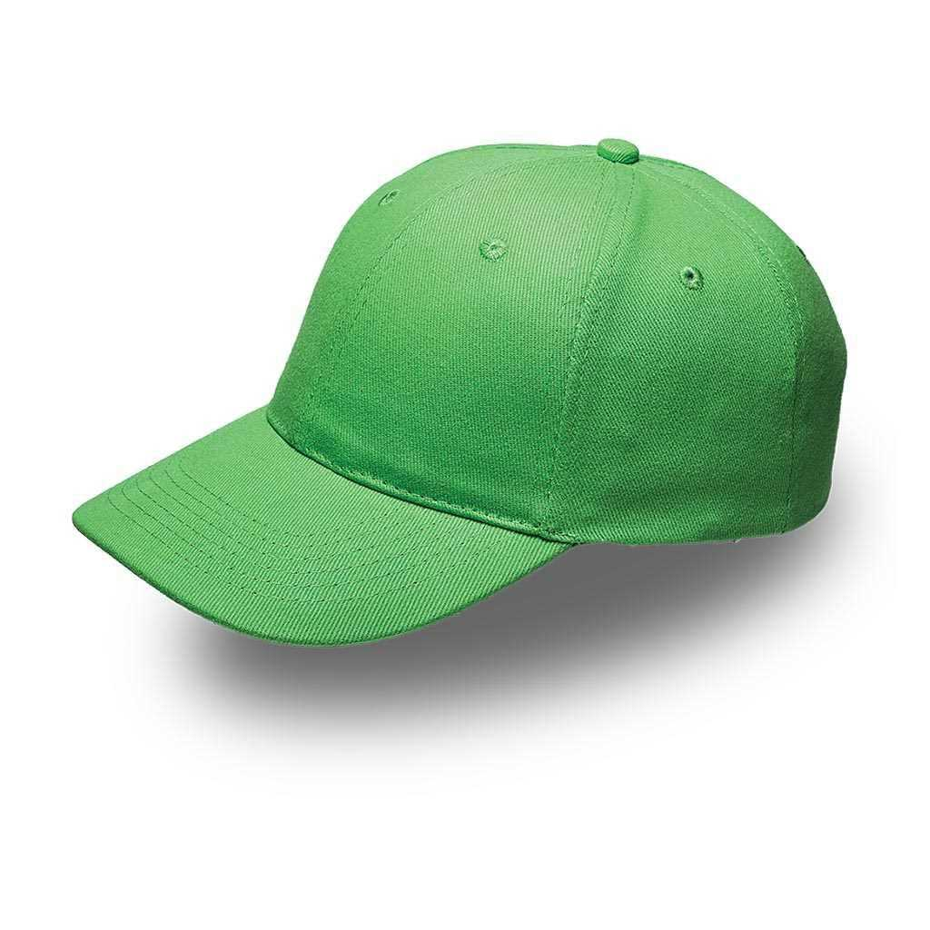 6 Panel Cap Lime