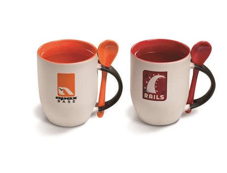 Chameleon Sublimation Mug - 325Ml Orange and Red