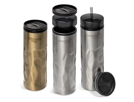Fire & Ice 2-In-1 Double Wall Tumbler - 435Ml - Grouped