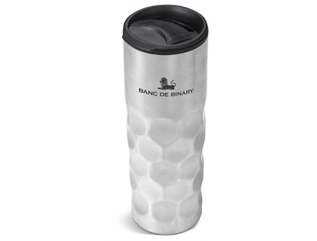Meteor Double-Wall Tumbler - 450Ml Silver