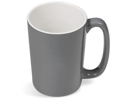 Sorrento Laser-Ready Mug - 415Ml Grey